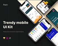 Platin mobile UI Kit