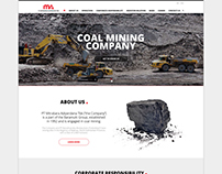 PT Mitrabara Adiperdana Tbk - Website Company Profile