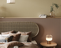 Apartment 21- Minimalist Bedroom