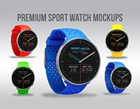 PREMIUM Sport Watch mockups
