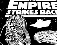 Empire Strikes Back Poster Design