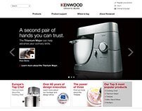 Kenwood Website and iPhone App