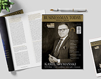 Businessman Today | Editorial design project