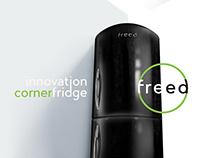 corner fridge concept