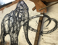 Highlife Magazine: Belgian street artist Dzia