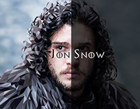 Jon Snow | Game Of Thrones (low poly)