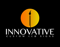 Innovative Custom LED Signs Logo Design