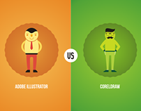 Adobe Illustrator (vs) Coreldraw