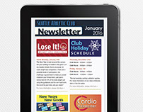 Responsive SAC Monthly HTML Newsletter