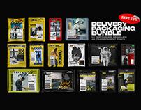 Delivery Packaging Bundle - Photoshop Mockups