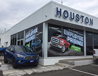 Automotive Dealership Exterior + Interior Signage