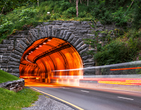 Pigeon Forge Tunnel - Great Smoky Mountains