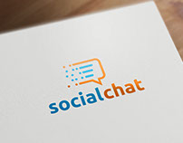 Social Chat | Logo Template