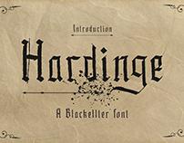Hardinge - Blackletter Style Font