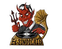 PIEZAS GRÁFICAS PARA EL SINDICATO DJ GANG