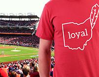 Cleveland Indian's Loyal T-Shirt Design