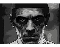 """Boris Karloff as """"The Mummy"""""""