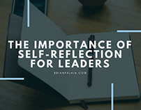The Importance of Self-Reflection for Leaders