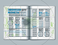 "Infographic for ""Magazine of Business"" (Moscow)"