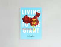 'Living Next to the Giant' book cover design