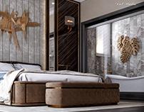 Modern Style Suite Bedroom