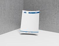 Letterhead Design/ Branding- Hanks Plumbing