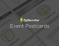 ZipRecruiter // Event Postcards