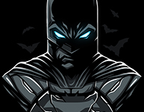 "Принт для интернет-магазина ""Индивид"". Batman (BATBOX)"
