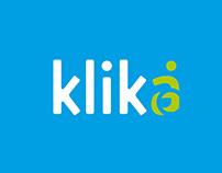 KLIKA - logo design & rebranding 2015