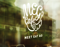 MEG Cafe – Unused logo design proposal