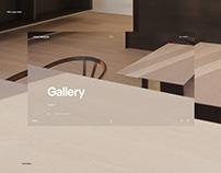 John Pawson — Website Design in Adobe XD
