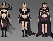 Dark Queen design- Wip
