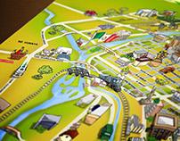 Tourist Map of Culiacan / Mapa Turístico de Culiacán
