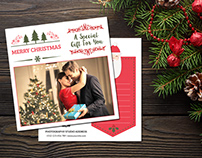 Christmas Photographer Gift Certificate