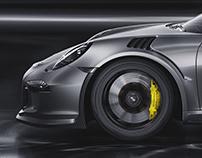 911 GT3 RS CGI