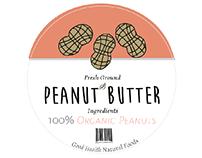 Good Health Natural Foods Peanut Butter Label