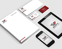 Mann's Corvette Shop Identity Package