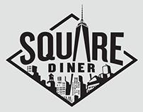 Square Diner Brand Identity Redesign