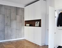 Rénovation d'un appartement rue JP Timbaud, Paris