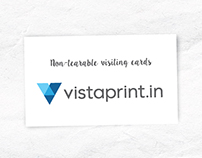 non-tearable visiting card by vistaprint.in