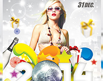 Carnival 2012 New Year Flyer
