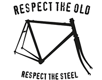Tribute to vintage steel road bike frames