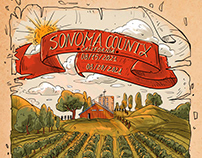 Poster Sonoma County-Commission work