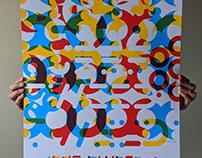 Jeff Tweedy, High Art Circles Poster Art