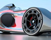 2015 - AIR, F1 Concept Car.