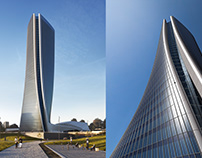CGI:Generali Tower / Zaha Hadid Architects
