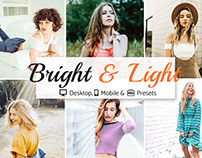 Bright & Light Presets Collection