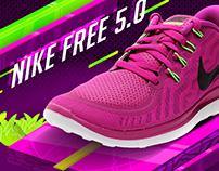 Nike free 5.0 Propuesta de post para redes sociales