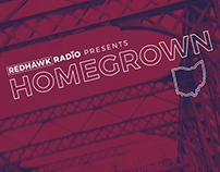 Redhawk Radio Homegrown Festival Poster