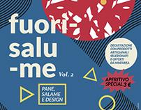Fuorisalume (pane, salame e design) vol. 2 - Poster